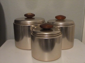 Mirro Canister Set - Before