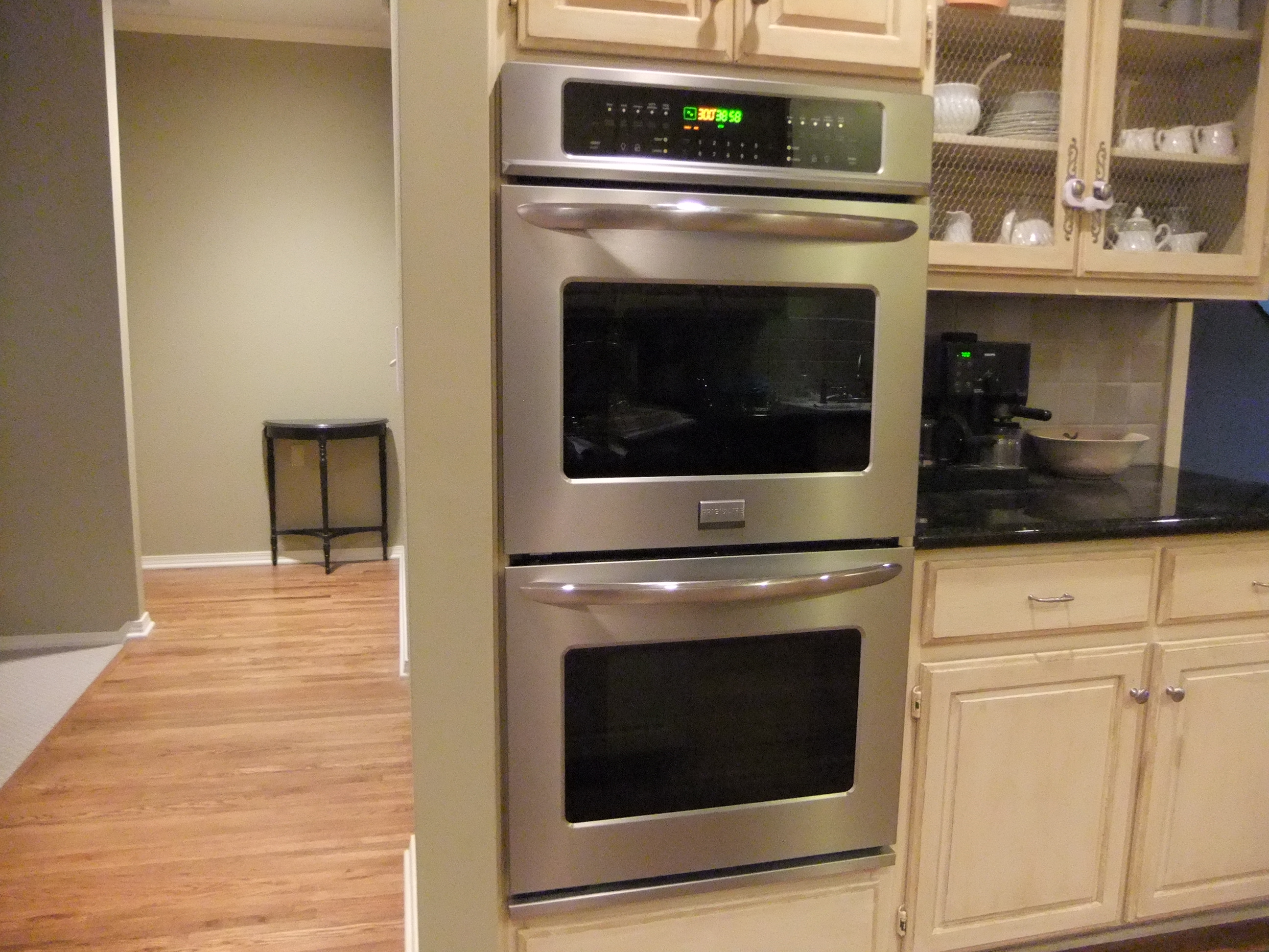 green kitchen pictures the new oven 1424